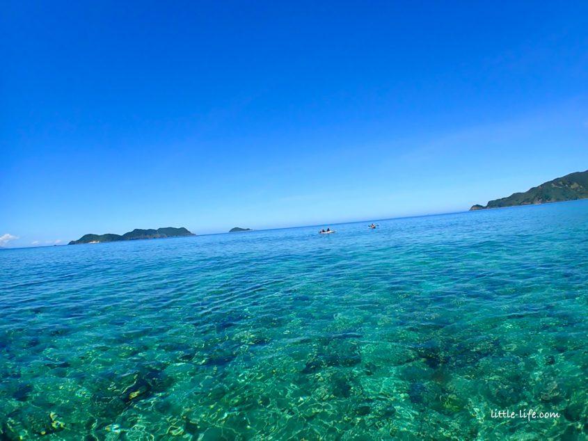 加計呂麻島シーカヤック